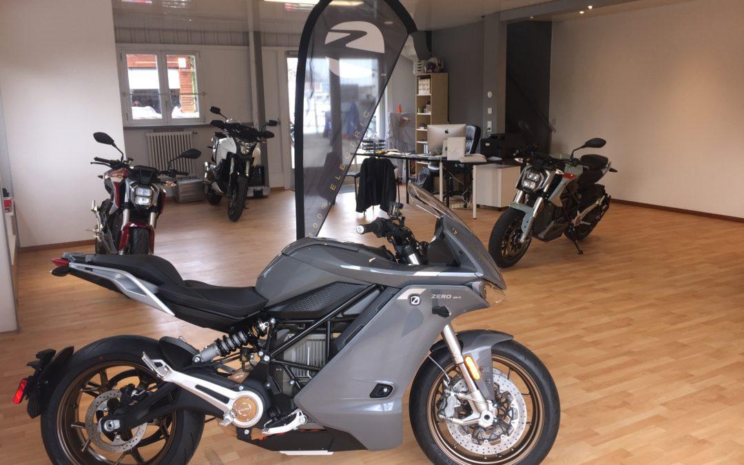 Réception des nouveaux modèles ZERO Motorcycles 2020
